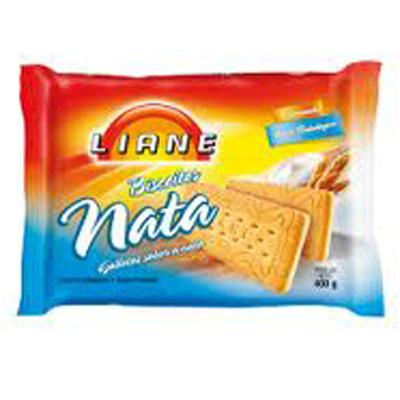 Biscoito de nata sem lactose Liane 400g