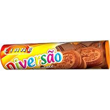 Biscoito recheado de chocolate Liane 110