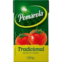 Molho de tomate Pomarola tetra pak 1,06kg