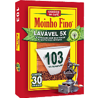 Filtro de papel 103 (lavável) Moinho Fino 30x1