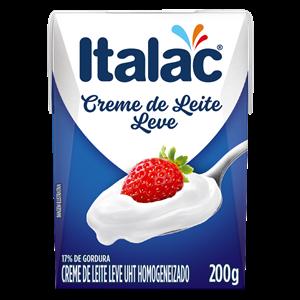 Creme de leite italac 200ml