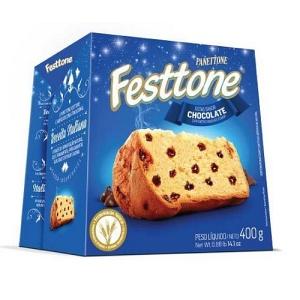 Panettone sabor gotas de chocolate Festtone 400g