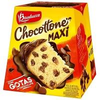 Chocottone Maxi gotas de chocolate Bauducco 500g