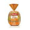 Pão grãos e castanha Nutrella 500g.