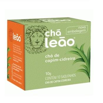 Chá capim cidreira  Leão 10x10g.