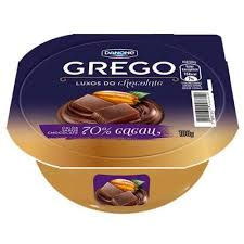 Iogurte Grego c/ calda chocolate 70% cacau Danone 100g