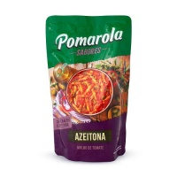 Molho de tomate com azeitona Pomarola sachê 300g