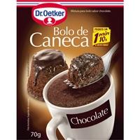 Bolo de caneca chocolate  Dr. Oetker