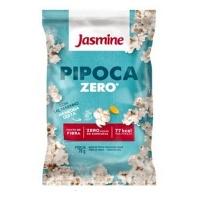 Pipoca de micro ondas Zero natural sem gordura com sal marinho Jasmine 70g