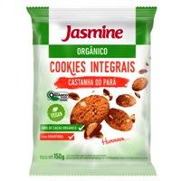 Cookies Integrais orgânico castanha do Pará  Jasmine 150g