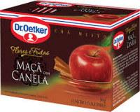 Chá misto de maçã com canela Dr. Oetker 30g