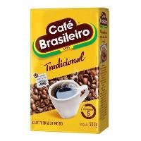 Café Brasileiro tradicional moido e  torrado a vácuo 500g