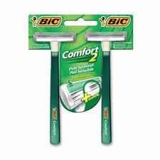 Aparelho comfort 2 sensivel Bic 2x1