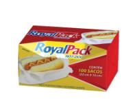 Sacos plástico para cachorro quente Royal Pack 100x1