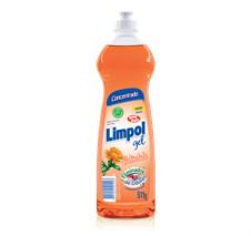 Detergente eliminador de odores em gel calêndula Limpol 500ml