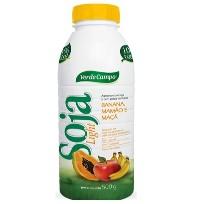 Iogurte de soja light sabor banana, mamão e maçã Verde Campo 500g