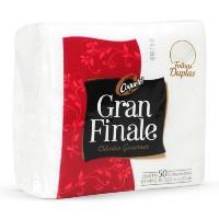 Guardanapo gourmet folha dupla Grand Finale 50 unid.