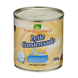 Leite condensado Diet São Loureço 345g