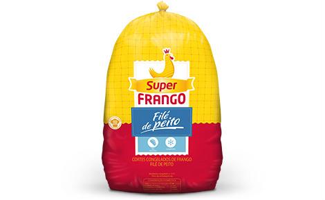 Filézinho de peito de frango sassami Super Frango 1kg