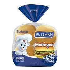 Pão hambúrguer Pullman (4x1) 200g