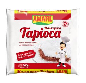 Tapioca (goma de mandioca hidratada) Amafil 500g