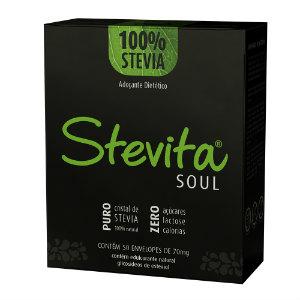 Adoçante stévia sachê Stevita Soul 50x70g