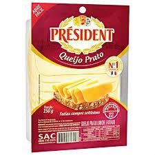 Queijo prato Président 150g