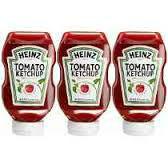 Catchup original Heinz 397g.(pacote c/ 3 unid.)