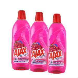 Ajax bouquet de flores 500ml (pacote c/ 3 unidades)