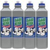 Limpa alumínio Diabo Verde 500 ml.( pacote c/ 4 unid.)