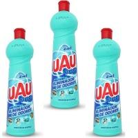 Limpador multiuso eliminador de odores Uau Tech Ingleza 500ml (pacote c/3 unid.)
