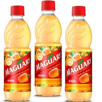Suco de caju concentrado Maguary 500ml. (pacote c/ 3 unid.)