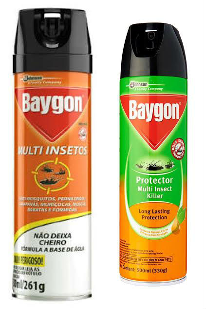 Kit Inseticida aerossol Ação Total e Multi insetos Baygon