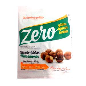 Biscoito Zero Açúcar sabor Macadâmia Bom Biscoito 100g