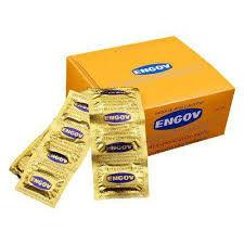 Engov caixa com 25 cartelas c/ 6 comprimidos cada