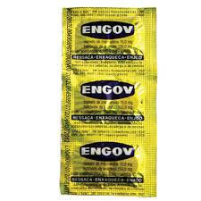 Engov cartela com 6 comprimidos
