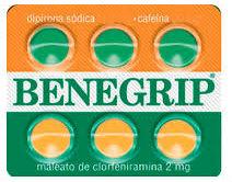 Benegrip cartela c/ 6 comprimidos