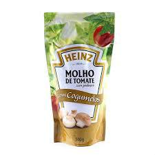 Molho de tomate c/ cogumelo Heinz 340g