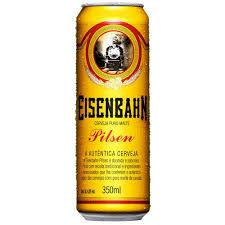 Cerveja Eisenbahn Pilsen lata 350ml