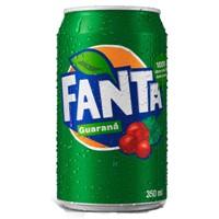 Fanta sabor guaraná lata 350ml