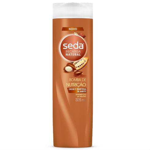 Shampoo Seda recarga natural bomba de nutrição 325ml