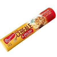 Biscoito Cereale e frutas maçã e uvas passas Bauducco 141g