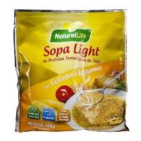 Sopa light de proteina de soja c/ galinha e legumes Natural Life 100g