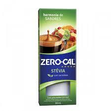 Adoçante líquido Stévia e sucralose Zero Cal 80ml