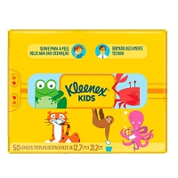 Lenço infantil Kleenex Kids 50x1