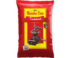 Café tradicional Moinho Fino 500g