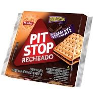 Biscoito recheado de chocolate Pit Stop Marilan 124g