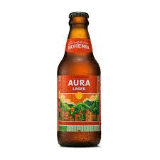 Cerveja Lager Aura Bohemia 300ml