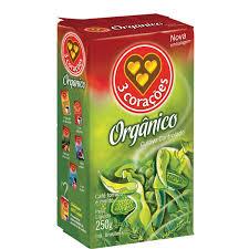Café orgânico 3 Corações 250g