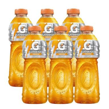 Isotônico Gatorade laranja pet 500ml. ( pacote c/ 6 unid.)
